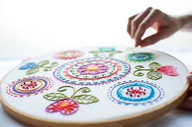 machine embroidery designs for kitchen towels detrit us online hand and machine embroidery classes craftsy