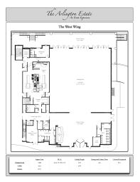 technical floor plan floor plans u2013 the arlington estate
