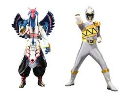 zenowing le ranger argent dino super charge personnages