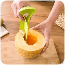 multifunction cutter peelers cantaloupe honeydew melon knife cut