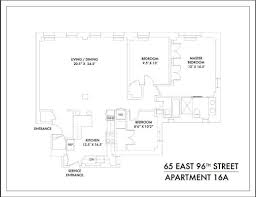 Grandeur 8 Floor Plan 65 East 96th Street 16a U2014 Argent Advisors