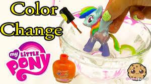 diy color change mcdonalds rainbow dash my little pony nail polish