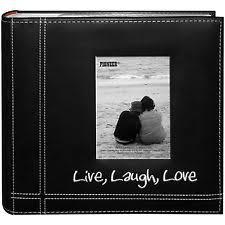 Photo Album Black Pages Love Photo Album Ebay