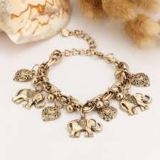 color charm bracelet images If you trendy silver color charm bracelet bohemian statement women jpg