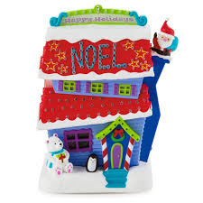amazon com merriest house in town crazy christmas house ornament