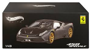 toy ferrari 458 amazon com wheels elite ferrari 458 speciale matte black