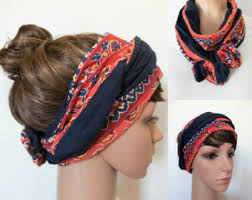 hair bands for women polka dots pin up bandana black retro women bands 50s