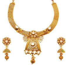 gold plated beads necklace images Ns 90005046 90 sbj 770 golden jfl gold plated beads designer jpg