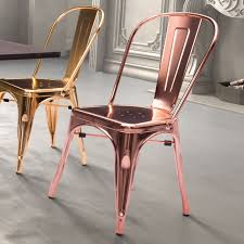 Gold Dining Chairs Zuo Modern Elio Dining Chair Gold Hayneedle