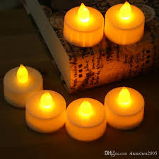 2017 flameless votive candles battery operated electronic candle