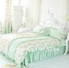 Ruffle Bedding Set Ruffled Bed Sheets Elefamily Co