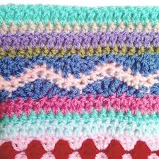 How To Crochet A Rug Out Of Yarn As We Go Stripey Blanket U2013 Not Your Average Crochet