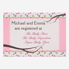 baby registry cards custom baby registry invites templates babyfavors4u