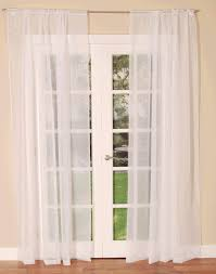 White Lined Curtain Panels Dress Your Windows With Lace Lined Or Translucent Voile Curtains