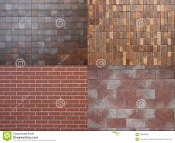 Different Wall Textures by Four Different Tile Textures Stock Photo Image 58902999