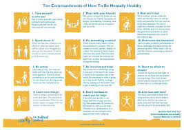 the ten commandments of mental health from slovakia your