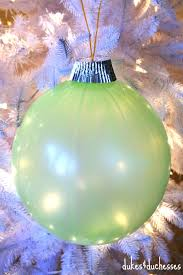 diy repurposed punch balloon ornaments dukes and duchesses