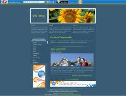 sunny flower u2013 d4j joomla template joomla templates