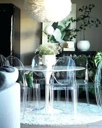 Clear Dining Room Table Clear Dining Room Chairs Modern Dining Room Ideas Stylish Designs