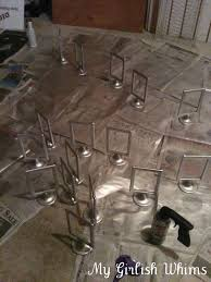 Diy Table Number Holders Diy Wedding Table Numbers My Girlish Whims
