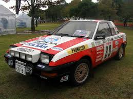nissan pulsar 1983 nissan pulsar exa rally car classic cars pinterest rally car