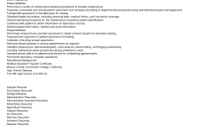 resume construction manager cover letter sample phlebotomy