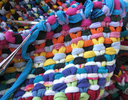 Thrift Rugs Knitted Rag Rug Roselawnlutheran