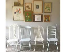 Rustic Dining Chair Rustic Dining Chair Etsy