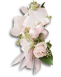 corsage flowers beautiful blush corsage teleflora