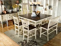 White Dining Room Table by Amazon Com Ashley Furniture Signature Design Whitesburg Dining