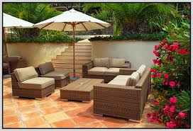 Patio Sets For Sale Patio Furniture On Sale Best Sale Low Back Poly Rattan 4 Seater