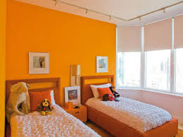 chambre orange et marron engaging deco chambre orange vue salle familiale sur marron 9