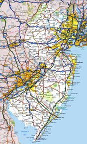 Road Maps Usa by New Jersey State Maps Usa Maps Of New Jersey Nj