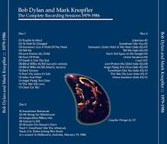 Blind Willie Mctell Bob Dylan Bob Dylan And Mark Knopfler Complete Recording Sessions 1979 1986