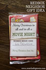 redbox neighbor gift idea over the big moon