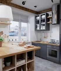 cuisine bois peint 1001 conseils et idées pour la déco cuisine scandinave