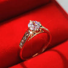 finger wedding rings images Ustyle new 2015 wedding ring for women classic white 1ct top cz jpg