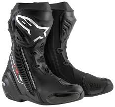 motorcycle racing shoes alpinestars supertech r boots revzilla