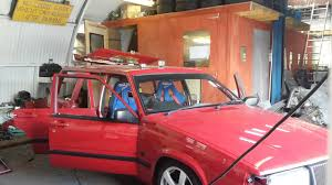 Volvo 940 Pickup Conversion Roof Removal Drift Truck Project