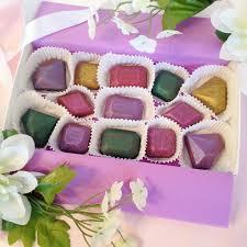chocolate jewels gemstone shaped chocolates gift ideas for