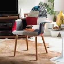 Patchwork Armchair For Sale Patchwork Chair Wayfair