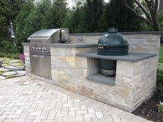 charcoal grill big green egg kitchen design outofhome outside