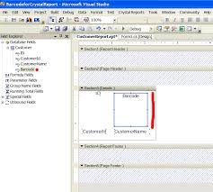 net c vb net barcode componenet for crystal reports for asp net
