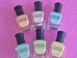review swatches new deborah lippmann spring nail polish 2014