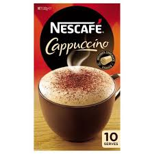 Coffee Mix nescafe coffee mix cappuccino 180g box 10 sachets kiwi corner dairy