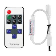 12 Volt Led Lighting Strips by Le Mini Remote Controller For Single Color Led Strip Lights Le