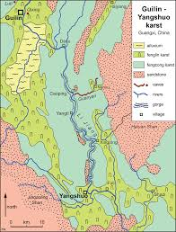 Guilin China Map by The Karst Lands Of Southern China Pdf Download Available