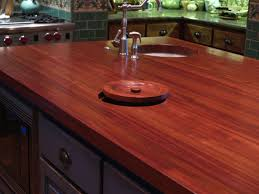 kitchen island trash jatoba custom wood countertops butcher block countertops