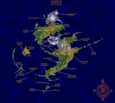 Final Fantasy 2 World Map by World Of Spira Final Fantasy X Minecraft Project