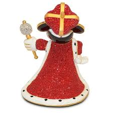 king mickey mouse figurine by arribas brothers shopdisney